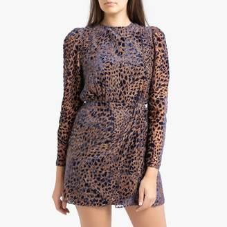 The Kooples Long-Sleeved Short Dress