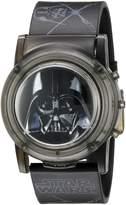 Star Wars Kids' DAR6000SR Digital Display Analog Quartz Black Watch