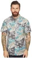 VISSLA Islander Short Sleeve Woven Top Men's Clothing