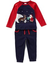 Starting Out Baby Boys 12-24 Months Christmas Santa Top & Pants Set