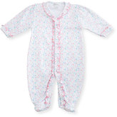 Kissy Kissy Elegant Ellie's Printed Footie Pajamas, Pink, Size Newborn-9 Months