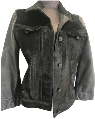 AllSaints Black Leather Jacket for Women