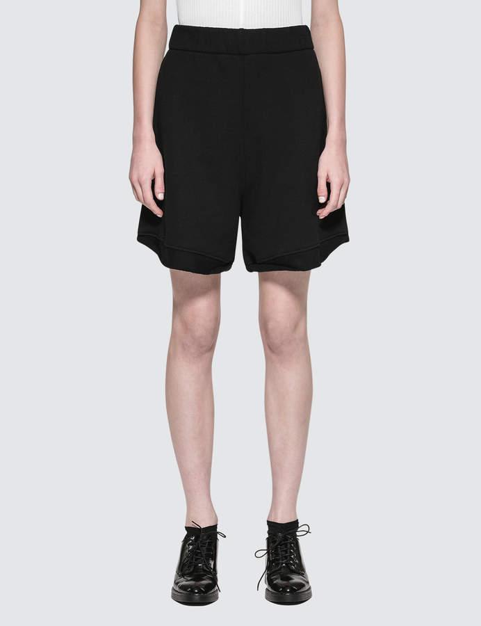 Alexander Wang Fleece High-waist Gym Shorts