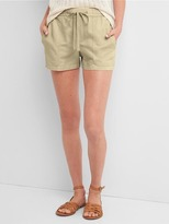 Gap Linen-cotton utility shorts
