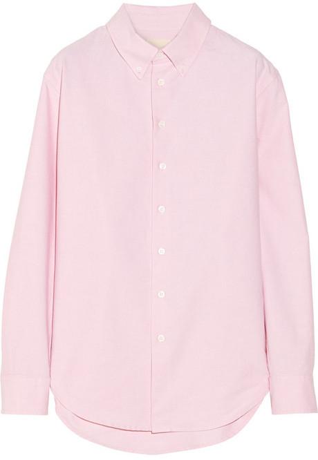 Band Of Outsiders Cotton Oxford boyfriend shirt