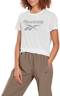 Reebok Workout Ready Supremium Slim Fit Big Logo Tee GI6862