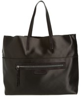 Pedro Garcia Satin Shopper - Black