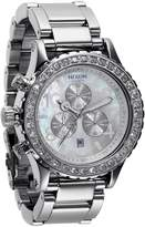 Nixon Women's 42-20 A037710 Silver Stainless-Steel Quartz Watch with White Dial