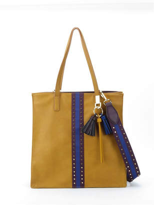 Like Dreams Tassel and Studded Tote Bag