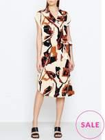 By Malene Birger Ellianso Floral Print Silk Shirt Dress