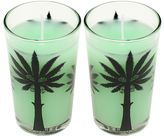 Ortigia Set Of 2 Cactus Flower Scented Candles