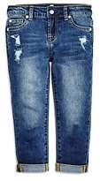 7 For All Mankind Girls' Josefina Distressed Boyfriend Jeans - Little Kid