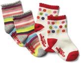 Gap Bright stripes socks (2-pack)