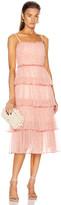 Jonathan Simkhai Harlyn Floral Dress in Rose | FWRD