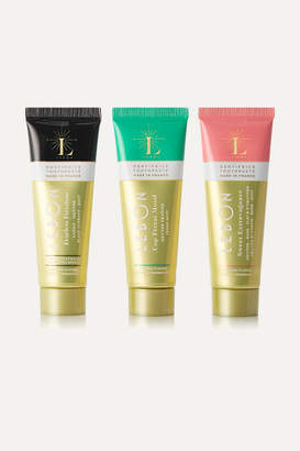 Lebon Green Toothpaste Gift Set, 3 X 25ml