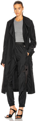 Rick Owens x Champion Trench Coat in Black | FWRD