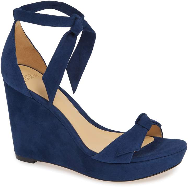 Alexandre Birman Clarita Platform Wedge Sandal