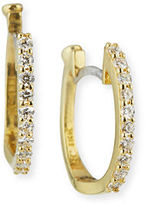 Roberto Coin Baby Hoop Diamond Earrings
