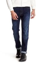 "Mavi Jeans Myles Mid Rise Straight Leg Jean - 32-34"" Inseam"