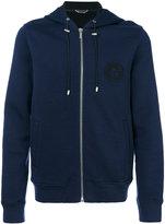 Versace Medusa logo zipped hoodie - men - Acrylic/Polyamide/Wool/viscose - M