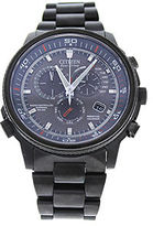 Citizen AT4117-56H Eco-Drive Nighthawk A-T Gray Ion-Plated Stainless Steel Watch