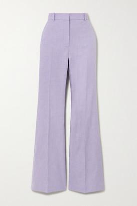 Joseph Tena Woven Flared Pants - Lilac