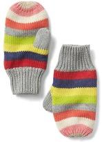 Gap Crazy stripe mittens