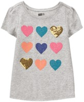 Crazy 8 Sparkle Heart Tee