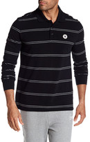 Converse Long Sleeve Stripe Polo