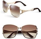 Swarovski SK0064 61mm Geometric Sunglasses