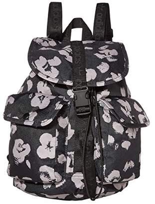 adidas Originals Utility Mini Backpack (Animal Print Black) Backpack Bags