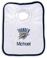 Designs by Chad and Jake 2-Pack Personalized Oklahoma City Thunder Bib