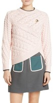 Ted Baker Women's Charo Cable Knit Wrap Front Sweater