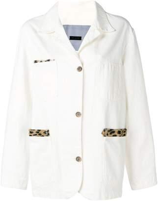 Simonetta Ravizza denim.structured blazer