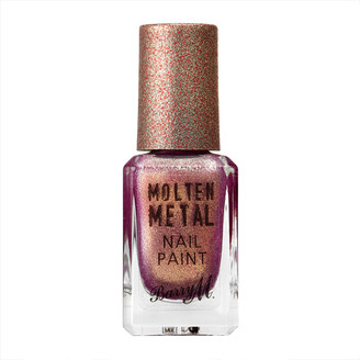 Barry M Molten Metals Nail Paint 10Ml Pink Luxe