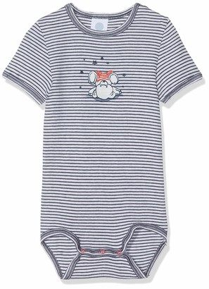 Sanetta Baby Boys' Body 1/2 w.Print Stripe Bodysuit