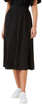 French Connection Polka Panelled Midi Skirt