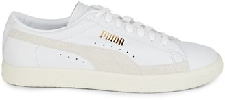 Puma The Archive Basket Leather Suede Sneakers