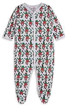 Roller Rabbit Unisex Monkey Cotton Footie - Baby