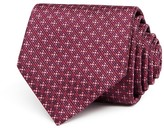 Salvatore Ferragamo Textured Diamond Nonsolid Classic Tie