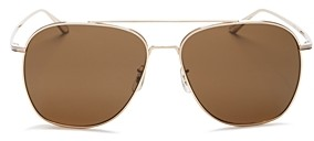 Oliver Peoples Women's Ellerston Brow Bar Square Sunglasses, 58mm