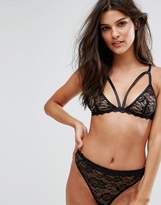 PrettyLittleThing Lace Triangle Bra