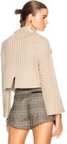 Soyer Gwen Crop Pullover in Neutrals.