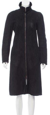 Max Mara Shearling Long Coat