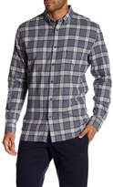 Barney Cools Cabin Plaid Button Down Long Sleeve Relaxed Fit Shirt