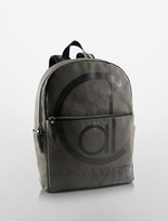 Calvin Klein Logo Canvas Backpack