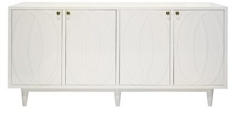 Worlds Away Sideboard Color: White Lacquer