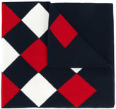 Moncler argyle scarf - women - Virgin Wool - One Size