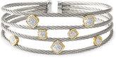 'Classique' Diamond Cuff Bracelet