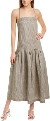 Mara Hoffman Renata Linen Midi Dress